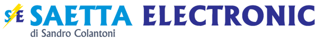 Saetta Electronics di Sandro Colantoni - logo orizzontale
